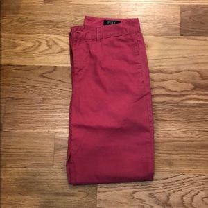 Polo by Ralph Lauren size 14 red pants